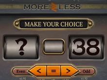 More Or Less от Playtech – играть онлайн бесплатно